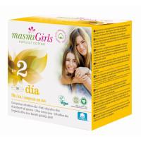 Masmi прокладки GIRL ультратонкие гигиенические для подростков 12 шт (размер 2)
