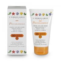 Солнцезащитный крем для детей Солнышко с Календулой и маслом Персиковых косточек SPF 50 125мл