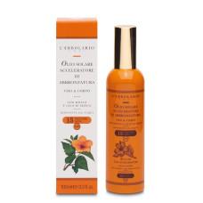 Спрей для загара для лица и тела с маслом семян моркови, SPF 15