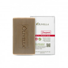OLIVELLA Мыло для лица и тела Гранат на основе оливкового масла, 150г