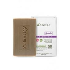 OLIVELLA Мыло для лица и тела Лаванда на основе оливкового масла, 150г