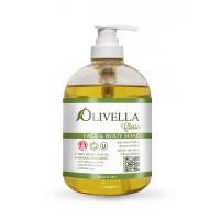 Жидкое мыло для лица и тела на основе оливкового масла, 500мл ЭКОНОМИЯ 20%!*