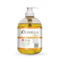 Жидкое мыло для лица и тела Абрикос на основе оливкового масла, 500мл