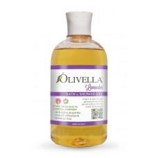 OLIVELLA Гель для душа и ванны Лаванда на основе оливкового масла, 500мл