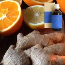 Апельсин, имбирь в оливковом масле Malum aurantium sinense – Zngiber, 100 ml