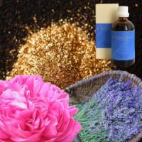 Золото, роза, лаванда в оливковом масле Aurum-Rosa-Lavandula, 100 ml