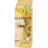 БИО-Краска-порошок для волос растительная Клубничный Блонд/Strawberry Blonde, 100г