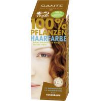 БИО-Краска-порошок для волос растительная Лесной орех/Nut Brown, 100г