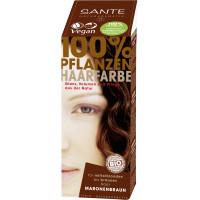 БИО-Краска-порошок для волос растительная Каштан/Chestnut Brown ), 100мл