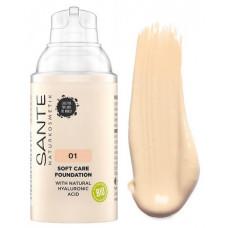 БИО-Основа под макияж Soft Care с гиалуроновой кислотой №1 Warm Linen, 30мл