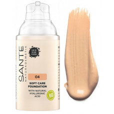 БИО-Основа под макияж Soft Care с гиалуроновой кислотой №4 Warm Honey, 30мл