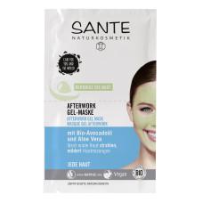 SANTE БИО-Гель-маска After-Work от следов усталости на лице, 2*4мл