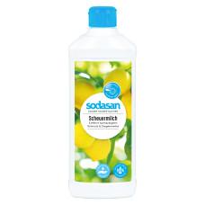 Органический очищающий универсальный крем (для плит, ванной, стеклокерамики и других деликатных поверхностей) 0,5л
