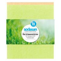 Салфетка-губка ECO Sponge Cloth для влажной уборки cупер-поглощающая, 2 шт.