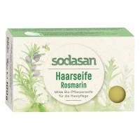 Органическое мыло-шампунь для волос Розмарин для укрепления и роста волос, 100 г