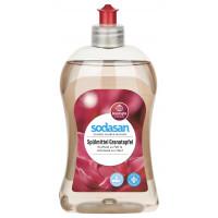 Органическое жидкое средство-концентрат  для мытья посуды Гранат, 1л