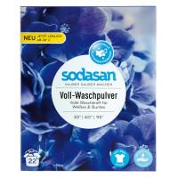 SODASAN Органический Порошок-концентрат стиральный Heavy Duty для сильных загрязнений, для белых и цветных вещей,  со смягчителем воды и кислородным отбеливателем (30° - 60° - 95°) 1,01кг