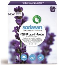 SODASAN Органический Порошок-концентрат стиральный Compact для цветных и черных вещей, со смягчителем воды (30° - 60° - 95°) 1.01кг