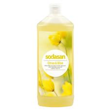 Органічне мило Citrus-Olive рідке, бактерицидне з цитрусовою і оливковою оліями, 1л