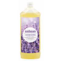 Органическое мыло Lavender-Olive жидкое, успокаивающее с лавандовым и оливковым маслами, 1 л