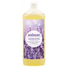 Органическое мыло Lavender-Olive жидкое, успокаивающее с лавандовым и оливковым маслами 1 л